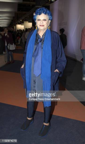 Lucia Bose attends ARCO Art Fair at Ifema on February 28 2019 in Madrid Spain