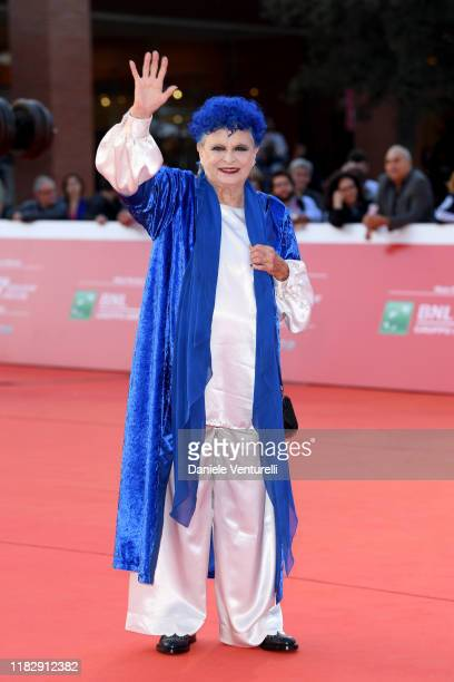 Lucia Bose attends the red carpet during the 14th Rome Film Festival on October 23 2019 in Rome Italy