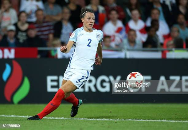Lucia Bronze of England during the UEFA Women's Euro 2017 quarter final match between England and France at Stadion De Adelaashorst on July 30 2017...