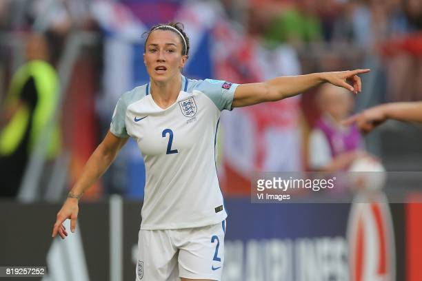 Lucia Bronze of England women during the UEFA WEURO 2017 Group D group stage match between England and Scotland at the Galgenwaard Stadium on July 19...