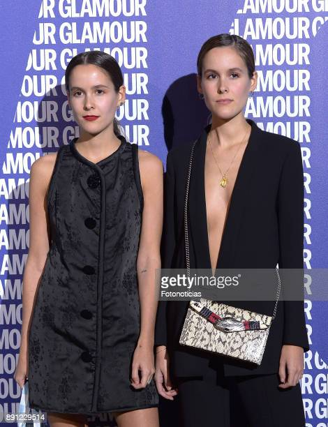 Lucia Cuesta and Helena Cuesta attend the Glamour Magazine Awards and 15th anniversary dinner at The Ritz Hotel on December 12 2017 in Madrid Spain