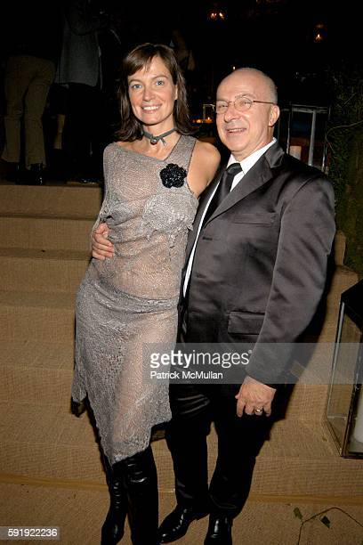 Lucia Debrilli and Tony Verga attend FENDI 80th ANNIVERSARY All Hallow's Eve Party hosted by KARL LAGERFELD at 25 Broadway on October 29, 2005 in New...