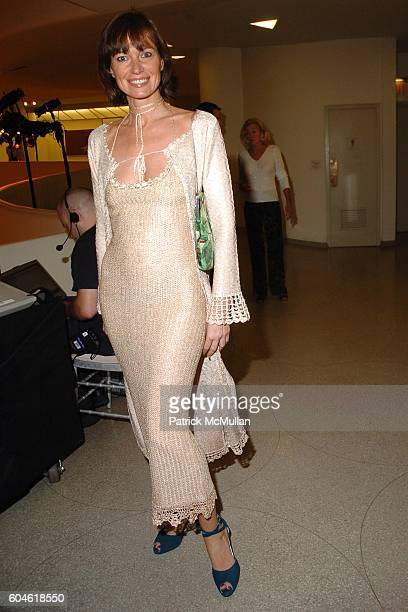 Lucia Debrilli attends Friends of SAN PATRIGNANO Annual Fundraising Benefit at Guggenheim Museum on June 22, 2006 in New York City.
