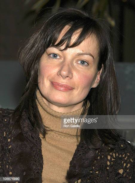 Lucia DeBrilli during Dinner at Seagrill Restaurant at Seagrill Restaurant, Rockefeller Center in New York City, New York, United States.