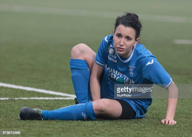 Lucia Di Guglielmo during Serie A female match between Juventus Woman v Empoli Ladies in Vinovo Turin on February 17 2018