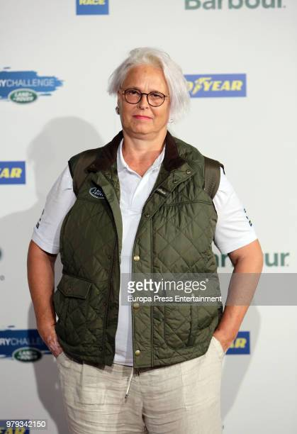 Lucia Dominguin attends Land Rover Discovery Challenge presentation on June 20 2018 in Madrid Spain