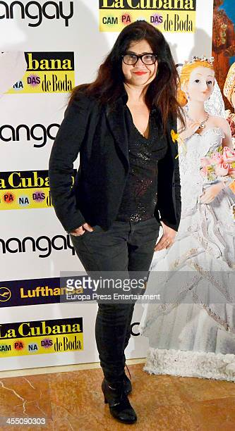 Lucia Etxeberria attends Shangay Magazine 20th Anniversary on December 10 2013 in Madrid Spain