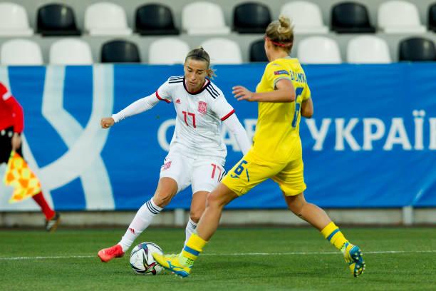 UKR: Ukraine v Spain: Group B - FIFA Women's WorldCup 2023 Qualifier