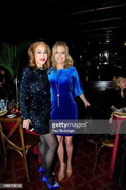 Lucia Hwong Garden and Leesa Rowland attend Cheri Kaufman's Birthday at Kaufman Astoria Studios on November 29 2018 in the Queens borough of New York...