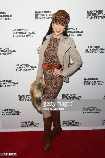Lucia Hwong Gordon attends the 21st Annual Hamptons International Film Festival on October 11, 2013 in East Hampton, New York.