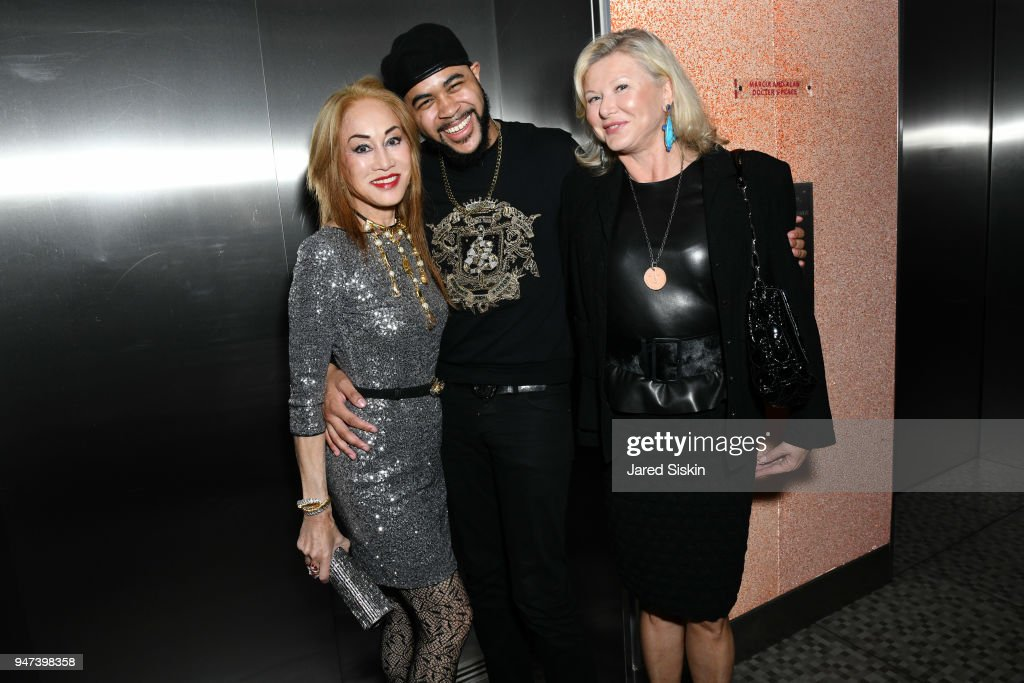 Lucia Hwong Gordon, Tony Bowls and Liliana Cavendish attend The Museum of Arts and Design (MAD) Presents L