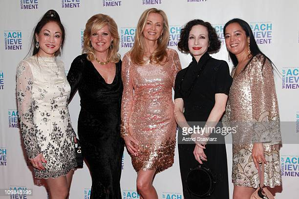 Lucia Hwong Mindy Grossman Bonnie Pfeifer Evans Bebe Neuwirth and Cassandra Seidenfeld attend the 26th Annual Women's Project's Women of Achievement...