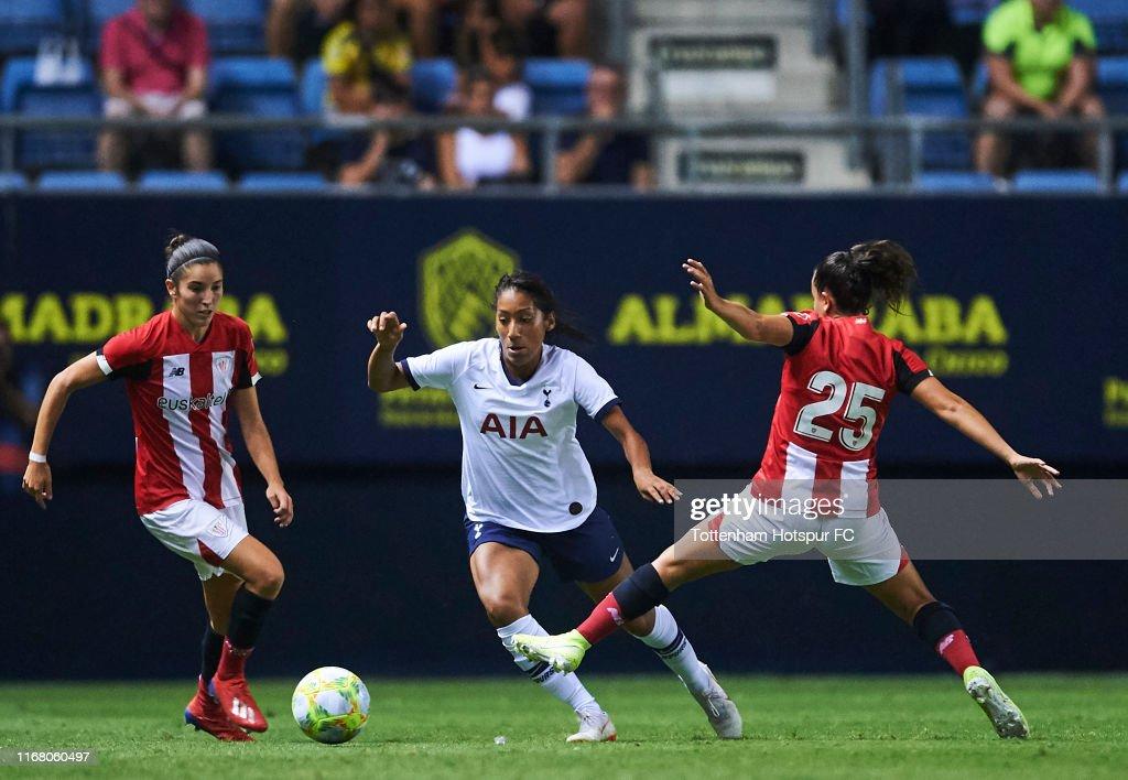 Athletic Club Bilbao v Tottenham Hotspur Women: Ramon de Carranza Trophy : News Photo