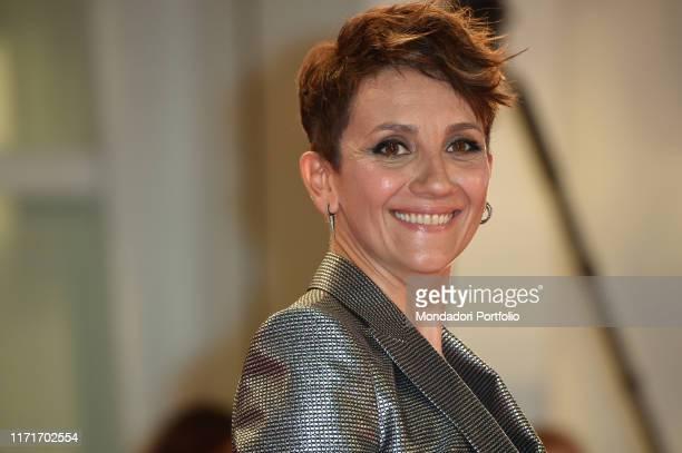 Lucia Ocone at the 76 Venice International Film Festival 2019 The Laundromat red carpet Venice September 1st 2019