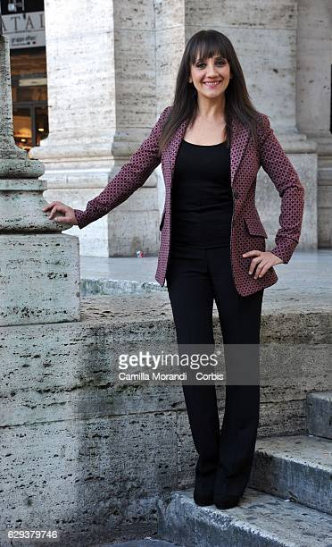 Lucia Ocone attends a photocall for 'Poveri Ma Ricci' on December 12 2016 in Rome Italy Photo by Camilla Morandi Corbis/Corbis via Getty Images