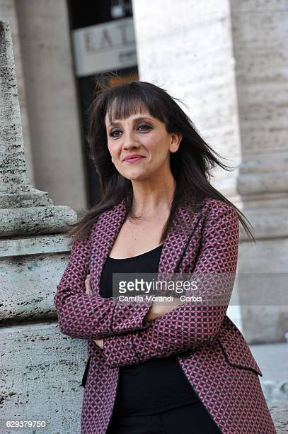 Lucia Ocone attends a photocall for 'Poveri Ma Ricci' on December 12, 2016 in Rome, Italy. (Photo by Camilla Morandi - Corbis/Corbis via Getty Images