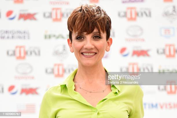 Lucia Ocone attends Giffoni Film Festival 2019 on July 24 2019 in Giffoni Valle Piana Italy