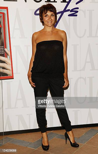Lucia Ocone attends the Ciak Party at Lancia Cafe on September 7 2011 in Venice Italy