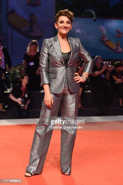 Lucia Ocone walks the Filming In Italy red carpet during the 76th Venice Film Festival at Sala Grande on September 01 2019 in Venice Italy