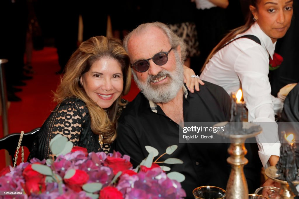 Lucia Penrod (L) and Jack Penrod attend the Jacob & Co Cannes 2018 party at Nikki Beach on May 16, 2018 in Cannes, France.