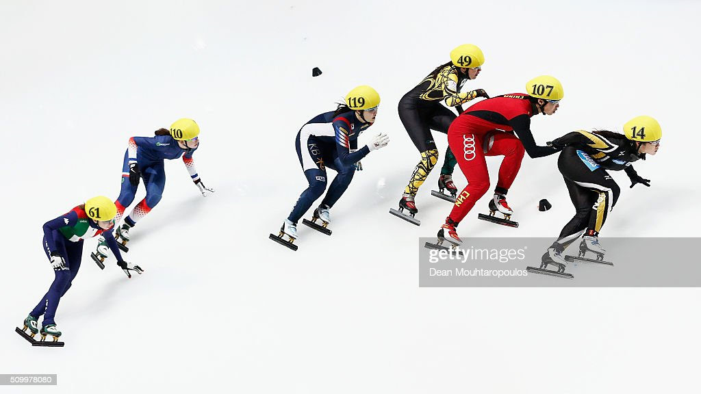 ISU World Cup Short Track Speed Skating Dordrecht - Day 2