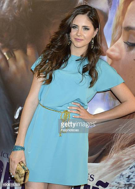 Lucia Ramos attends the 'Por Un Punado de Besos' premiere at Callao Cinema on May 14 2014 in Madrid Spain