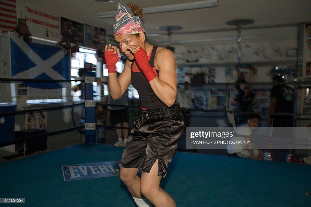 Women's Boxing - Lucia Rijker : News Photo