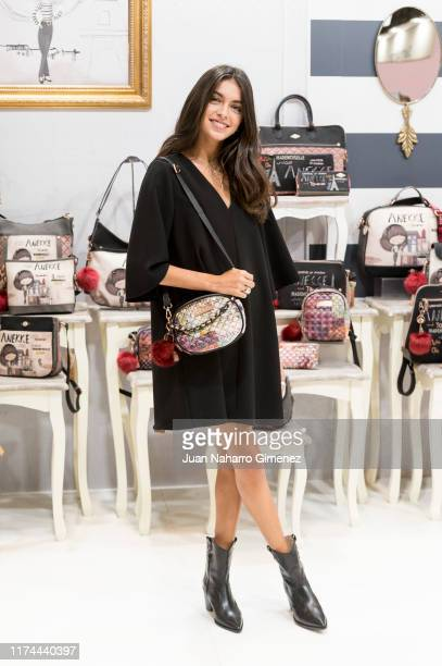 Lucia Rivera presents new Anekke collection at Ifema on September 13 2019 in Madrid Spain