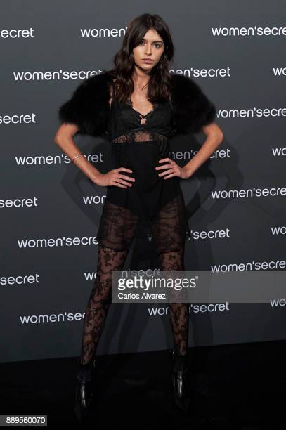 Lucia Rivera Romero attends the event Women'Secret Night to present the campaign Wanted on November 2 2017 in Madrid Spain