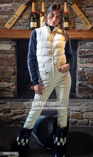 Lucia Rivera Romero is seen on December 7 2018 in Baqueira Beret Spain