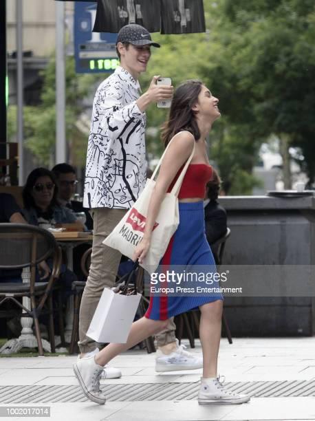 Lucia Rivera Romero is seen on June 13 2018 in Madrid Spain