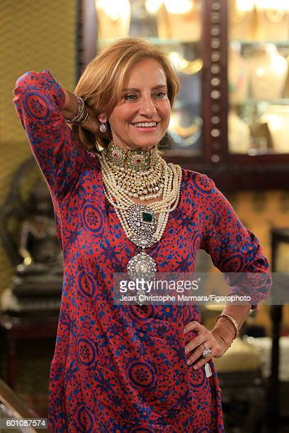 Lucia Silvestri creative director at Bulgari is photographed for Le Figaro on February 15 2016 in Jaipur India CREDIT MUST READ JeanChristophe...