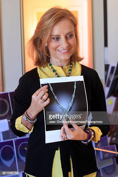 Lucia Silvestri creative director at Bulgari is photographed for Le Figaro on March 2 2016 in Rome Italy CREDIT MUST READ JeanChristophe...
