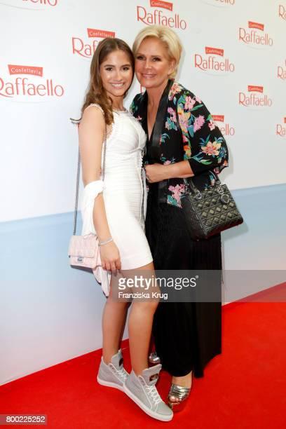 Lucia Strunz and Claudia Effenberg attend the Raffaello Summer Day 2017 to celebrate the 27th anniversary of Raffaello on June 23 2017 in Berlin...