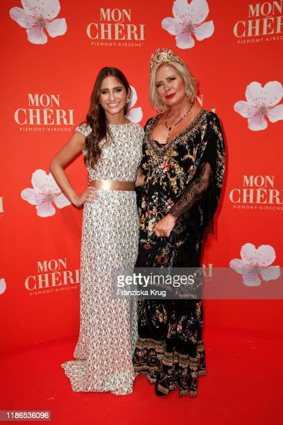 Lucia Strunz and Claudia Effenberg during the Mon Cheri Barbara Tag at Isarpost on December 4 2019 in Munich Germany