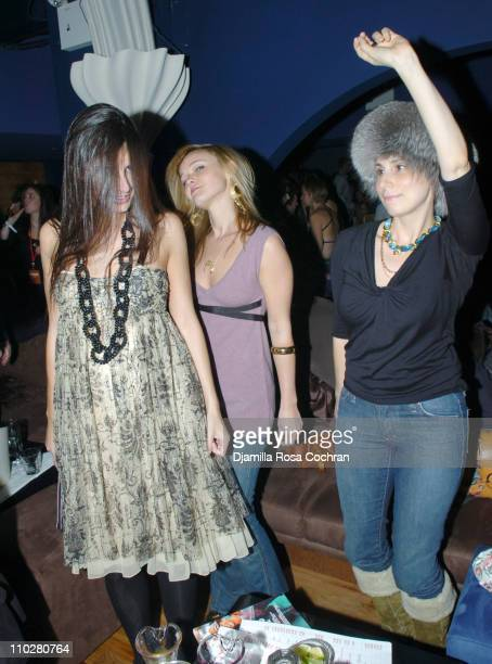 Lucia Tait Amanda Doll and Laura Rubin during Opening of Pacha December 7 2005 at Pasha in New York City New York United States