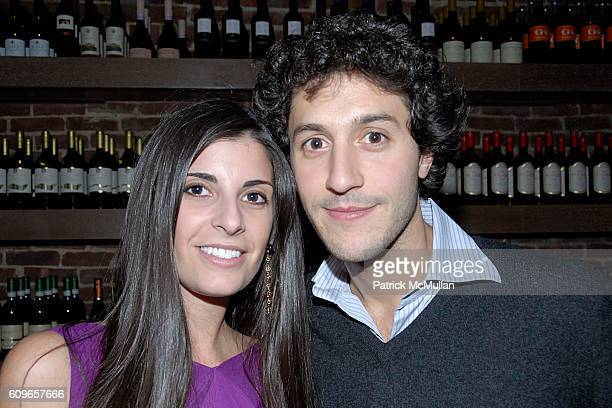 Lucia Tait and Jacopo Giustiniani attend COUP de COEUR Celebrates the Holidays with Shopping and Cocktails at FELICE WINE BAR at FELICE Wine Bar 1166...