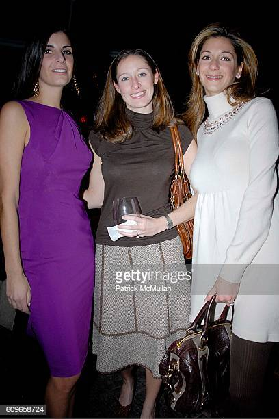 Lucia Tait Emily McMurphy and Grace Chirinian attend COUP de COEUR Celebrates the Holidays with Shopping and Cocktails at FELICE WINE BAR at FELICE...
