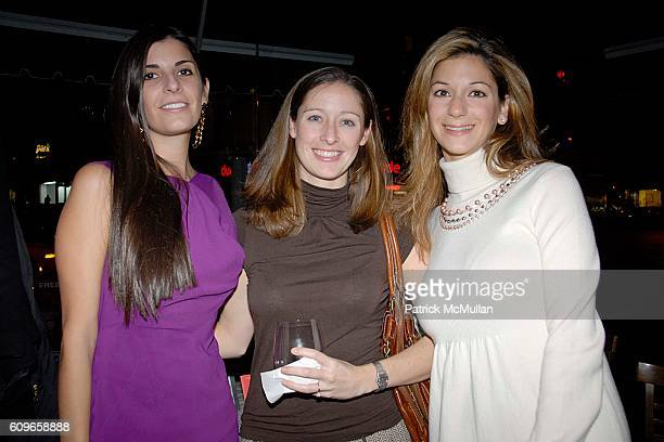 Lucia Tait, Emily McMurphy and Grace Chirinian attend COUP de COEUR Celebrates the Holidays with Shopping and Cocktails at FELICE WINE BAR at FELICE...