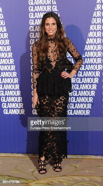 Lucia Villalon attend the Glamour Magazine Awards and 15th anniversary dinner at The Ritz Hotel on December 12 2017 in Madrid Spain