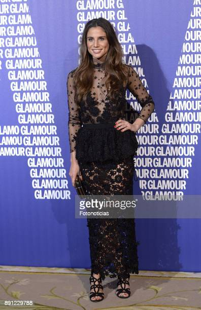 Lucia Villalon attends the Glamour Magazine Awards and 15th anniversary dinner at The Ritz Hotel on December 12 2017 in Madrid Spain