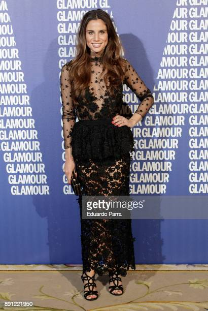 Lucia Villalon attends the Glamour Magazine Awards photocall at Ritz hotel on December 12 2017 in Madrid Spain