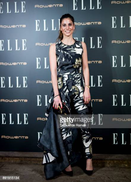 Lucia Villalon during Elle Christmas Party in Madrid on December 13 2017 in Madrid Spain