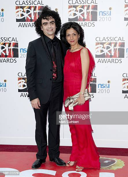Lucia Villazon And Rolando Villazon Arrive For The Classical Brit Awards At The Royal Albert Hall In London