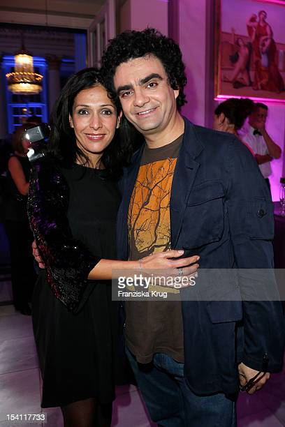 Lucia Villazon and Rolando Villazon attend the Echo Klassik 2012 award ceremony at Konzerthaus Berlin on October 14 2012 in Berlin Germany