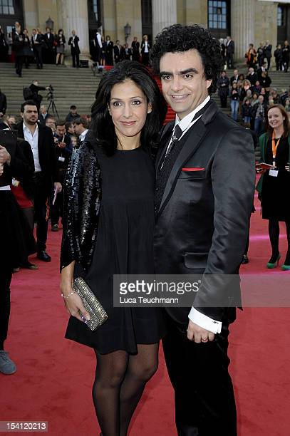 Lucia Villazon and Rolando Villazon attend the Echo Klassik 2012 award ceremony at Konzerthaus on October 14 2012 in Berlin Germany