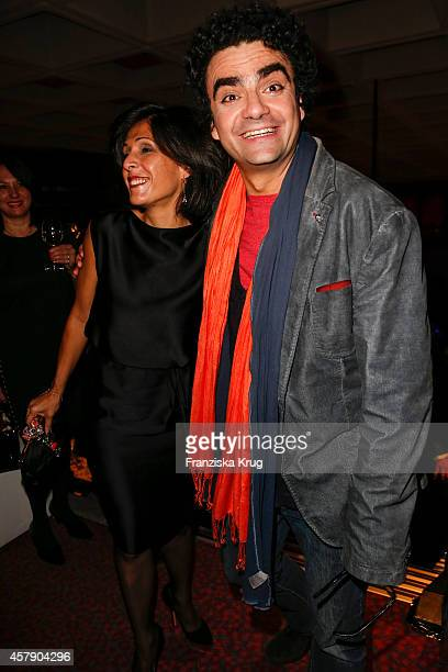 Lucia Villazon and Rolando Villazon attend the ECHO Klassik 2014 on October 26 2014 in Munich Germany
