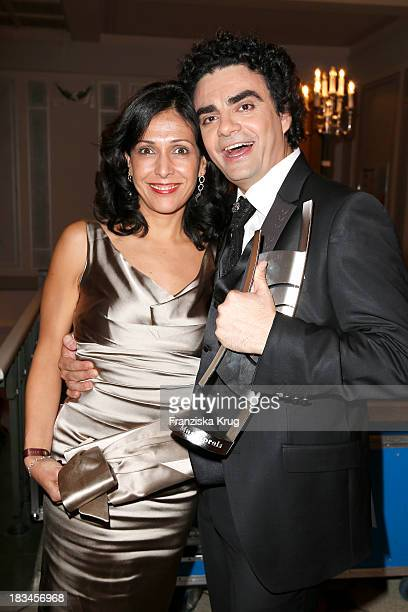 Lucia Villazon and Rolando Villazon attend the 'Echo Klassik Awards 2013' at Konzerthaus Berlin on October 06 2013 in Berlin Germany