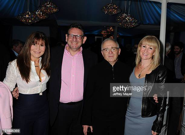Lucian Grainge Chairman CEO of Universal Music Group Irving Azoff Caroline Grainge attend the Universal Music Group Chairman CEO Lucian Grainge's...