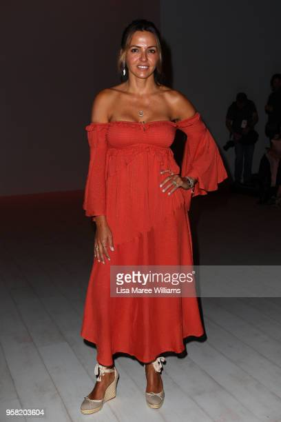 Luciana Damon attends the Swim show at MercedesBenz Fashion Week Resort 19 Collections at Carriageworks on May 14 2018 in Sydney Australia